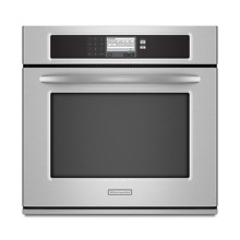 KitchenAid KEBU107SSS 30  Stainless Single Wall Oven Convection NIB  13365