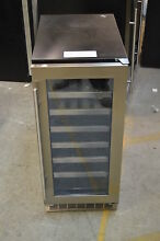 Danby DWC031D1BSSPR 15  Stainless Built In Wine Cooler T 2 NOB  13658