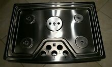 Kenmore Elite 30  Stainless Steel Gas CookTop   Main Top Only  No Internals