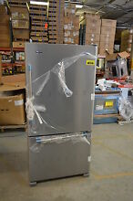 Maytag MBF2258FEZ 33  Stainless Bottom Freezer Refrigerator NOB T 2 CLW  14322