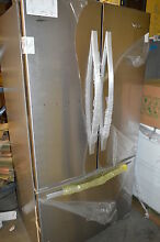 Whirlpool WRF540CWBM 36  Stainless French Door Refrigerator NOB T 2  14811