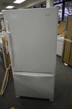 Whirlpool WRB322DMBW 33  White Bottom Freezer Refrigerator NOB T 2  14937