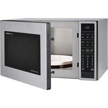 Sharp 1 5 cu ft Countertop Convection Microwave Stainless Steel Built in Capable
