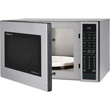 New Sharp 1 5 cu ft Countertop Convection Microwave Built In Capable In White
