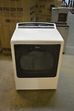 Whirlpool WED8000DW 29  White Front Load Electric Dryer NOB T 2  15462 CLW