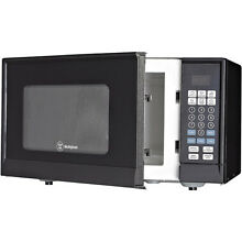 Westinghouse 0 9 cu  ft  Microwave  Black