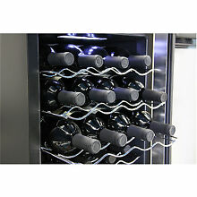 Whynter WC 201TD 20 Bottle Thermoelectric Wine Cooler  Black