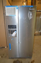 Kitchenaid KRSC503ESS 36  Stainless Side by Side Refrigerator NOB T 2  15626