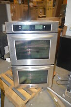 KitchenAid KEBU208SSS 30  Stainless Built In Convection Wall Oven NOB T 2  15660