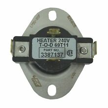 THERMOSTAT DRYER WHIRLPOOL 3387137   WP3387137