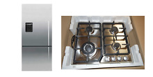 Fisher Paykel Kitchen Stainless 24  LP Gas Cooktop w  25  Refrigerator Combo Set