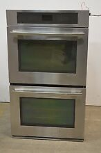 Jenn Air JJW2830WS 30  Stainless Double Electric Convection Wall Oven  01145 CLW