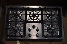 GE Profile PGP966SETSS 36  Stainless Gas Cooktop