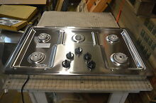 Whirlpool W5CG3625XS 36  Stainless Drop In Gas Cooktop NOB  15758 T2