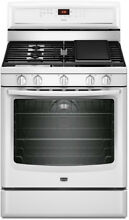 Maytag MGR8880AW 30  White Freestanding Gas Convection Range NIB  4520 MNB