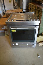 Jenn Air JGS1450DP 30  Stainless Slide In Gas Range NOB T 2  15813