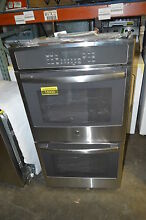 GE JK5500SFSS 27  Stainless Double Electric Wall Oven NOB  15930