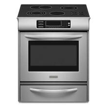 KitchenAid KESS908SPS 30  Stainless Slide In Electric Range NIB  6906