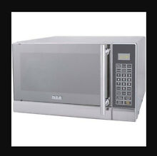 Microwave Oven Stainless Steel 0 7 Cu Ft Home Kitchen Dorm Apartment Cooking