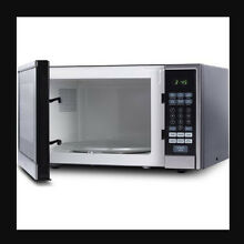 Countertop Microwave Oven 1 1 Cu Ft Stainless Steel Touch Control Digital Timer
