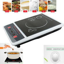 Electric 1300W Induction Cooker Portable Cooktop Burner Countertop Oven Home FDA