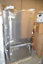 Whirlpool WRB322DMBM 33  Stainless Bottom Freezer Refrigerator NOB  16106 T2 CLW