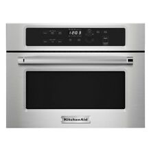 1 4 cu  ft  Built In Microwave in Stainless Steel By KitchenAid Top Quality