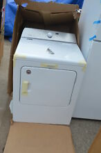 Maytag MEDB766FW 29  White Front Load Electric Dryer NOB T2  16508