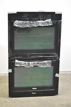 Whirlpool WOD51EC0AB 30  Black Double Electric Wall Oven
