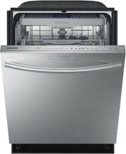 Samsung DW80H9950US 24  Stainless Built In Waterwall Dishwasher NOB  7259 CLW