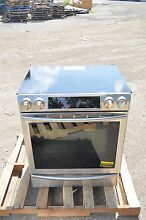 Samsung NE58F9710WS 30  Stainless Slide In Electric Range NOB  17171 CLW