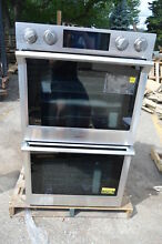 Samsung NV51K7770DS 30  Stainless Double Electric Wall Oven NOB  17166