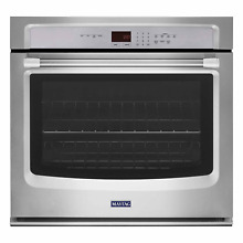 Maytag MEW7530DS 30  Single Thermal Electric Wall Oven 5 0 Cu Ft  NIB