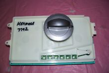 OEM KENMORE WASHER CONTROL BOARD WITH KNOB   W10367792 SEE PICTURES
