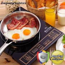 Portable Induction Cooktop Countertop Single Burner Stove Electric Cooker Panel