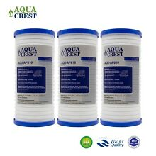 Fits Aqua Pure AP810 Replacement Refrigerator Water Filter 3 PACK by AQUACREST