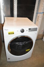 Whirlpool WED92HEFW 27  White Front Load Electric Dryer NOB  18545 T2