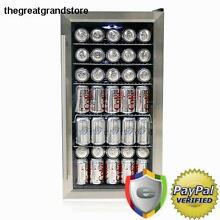 Whynter BR 125SD Beverage Refrigerator Stainless Steel Cooler Fridge Mini Door