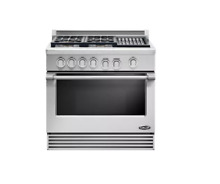 DCS RDV364GLN 36  Stainless Slide In  Natural Gas  Range NIB  18670