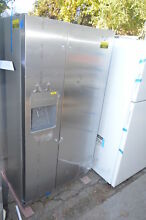 Whirlpool WRS322FDAM 33  Stainless Side by Side Refrigerator NOB  18927 T2
