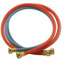 Abbott Rubber X1109RB 6FF TP 6 Feet Rubber Washing Machine Hoses