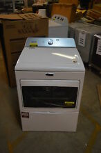 Maytag MGDB765FW 27  White Front Load Gas Dryer NOB  19015 CLW T2