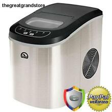 Compact Ice Maker Portable Deluxe Mini Nugget Soft Counter Top Cube Machine Day