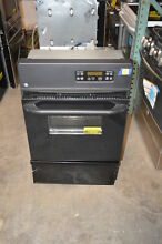 GE JGRP20BEJBB 24  Black Single Gas Wall Oven NOB  19569