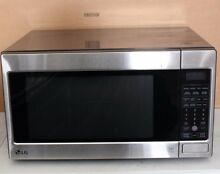 LG LCRT2010ST Full Size 2 0 Cu Ft Stainless Steel Microwave 1200 PICKUP ONLY Q37