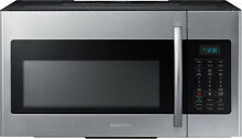 Samsung ME17H703SHS 30  Stainless Over The Range Microwave Hood Cook NIB NEW  3