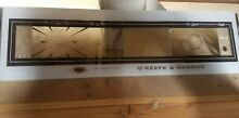 1970 s Okeefe   Merritt control panel glass for wall oven