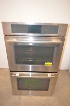 Jenn Air JJW3830WS 30  Stainless Double Electric Convection Wall Oven NOB  1233