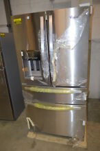 Whirlpool WRX735SDBM 36  Stainless French Door Refrigerator NOB  19890 T2 CLW
