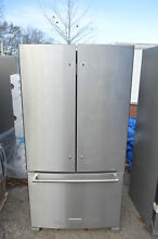 KitchenAid KRFF305ESS 36  Stainless French Door Refrigerator NOB  19954